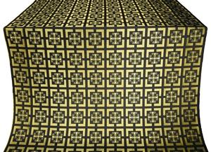 Cappadocia metallic brocade (black/gold)