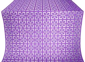 Cappadocia metallic brocade (violet/silver)