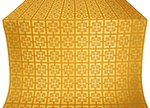 Cappadocia silk (rayon brocade) (yellow/gold)