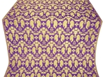 Chalice metallic brocade (violet/gold)