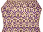 Chalice metallic brocade (violet/gold)