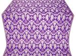 Chalice metallic brocade (violet/silver)