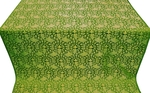 Theophania metallic brocade (green/gold)