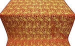 Theophania metallic brocade (red/gold)