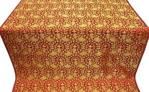 Theophania metallic brocade (red/gold)