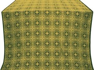 Shouya metallic brocade (green/gold)