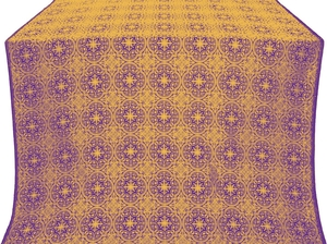 Shouya silk (rayon brocade) (violet/gold)