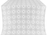 Shouya silk (rayon brocade) (white/silver)