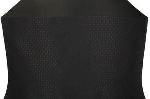 Small Cross metallic brocade (black)