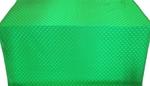 Small Cross metallic brocade (green)