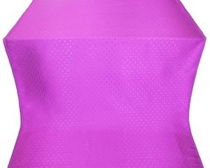 Small Cross metallic brocade (violet)