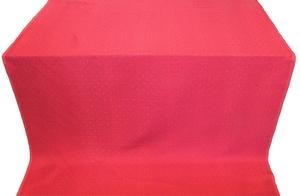 Small Cross metallic brocade (red)