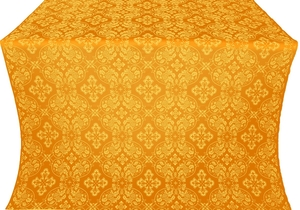 Rostov silk (rayon brocade) (yellow/gold)