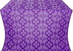 Rostov silk (rayon brocade) (violet/silver)