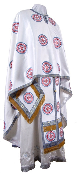 Embroidered Greek Priest vestments - Corinth