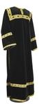Clergy stikharion - German velvet (black-gold)