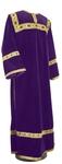 Clergy stikharion - German velvet (violet-gold)