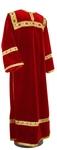 Clergy stikharion - German velvet (red-gold)