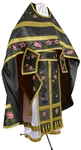 Embroidered Russian Priest vestments - Eden Birds (black-gold)