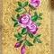 Embroidered Russian Priest vestments - Eden Birds (yellow-gold) (detail 2), Standard design
