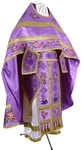 Embroidered Russian Priest vestments - Eden Birds (violet-gold)