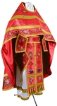 Embroidered Russian Priest vestments - Eden Birds (red-gold)