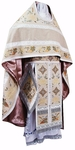 Russian Priest vestment set Chrysanthemum