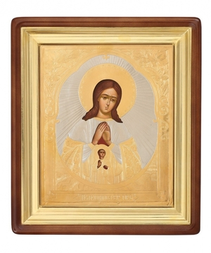 Religious icons: Most Holy Theotokos of Helper in  - 3