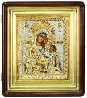 Religious icons: Most Holy Theotokos the Healer of Diseases - 3