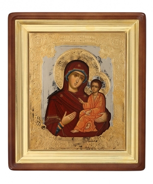 Religious icons: Most Holy Theotokos of Tikhvin - 4