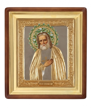 Religious icons: Holy Venerable Seraphim of Sarov - 17