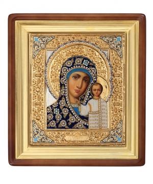 Religious icons: Most Holy Theotokos of Kazan - 15