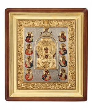 Religious icons: Most Holy Theotokos of the Sign