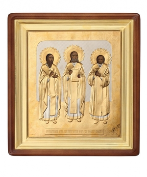 Religious icons: The Three Hierarchs