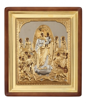 Religious icons: Most Holy Theotokos the Joy of All Who Sorrow - 9