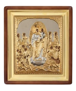 Religious icons: Most Holy Theotokos the Joy of All Who Sorrow - 9