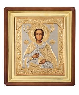 Religious icons: Holy Great Martyr Pantheleimon - 5