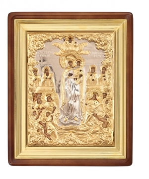 Religious icons: Theotokos the Joy of All Who Sorrow - 5