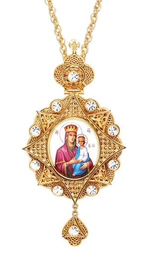 Bishop encolpion panagia no.105a