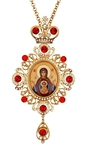 Bishop encolpion panagia no.58