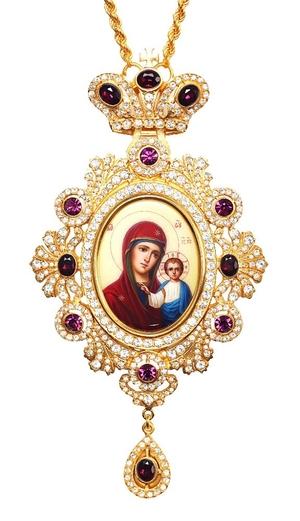 Bishop encolpion panagia no.167