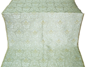 Eleon Bouquet metallic brocade (white/silver)