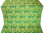 Eleon Bouquet metallic brocade (green/gold)