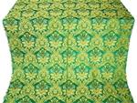 Eleon Bouquet metallic brocade (green/gold)