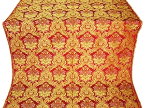 Eleon Bouquet metallic brocade (red/gold)