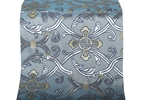 Forged Cross metallic brocade (blue/silver with gold)