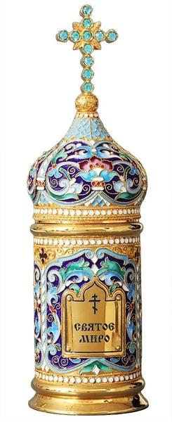 Jewelry vessel for Holy Myrrh