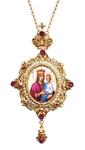 Bishop encolpion panagia no.16