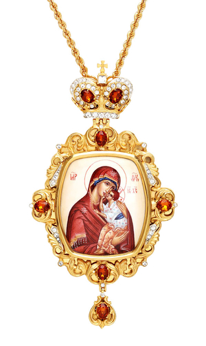 Bishop encolpion panagia no.153