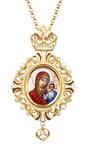 Bishop encolpion panagia no.174